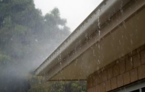 Signs of Water Damage in Your Home Part 1: Exteriors. Rain Gutter