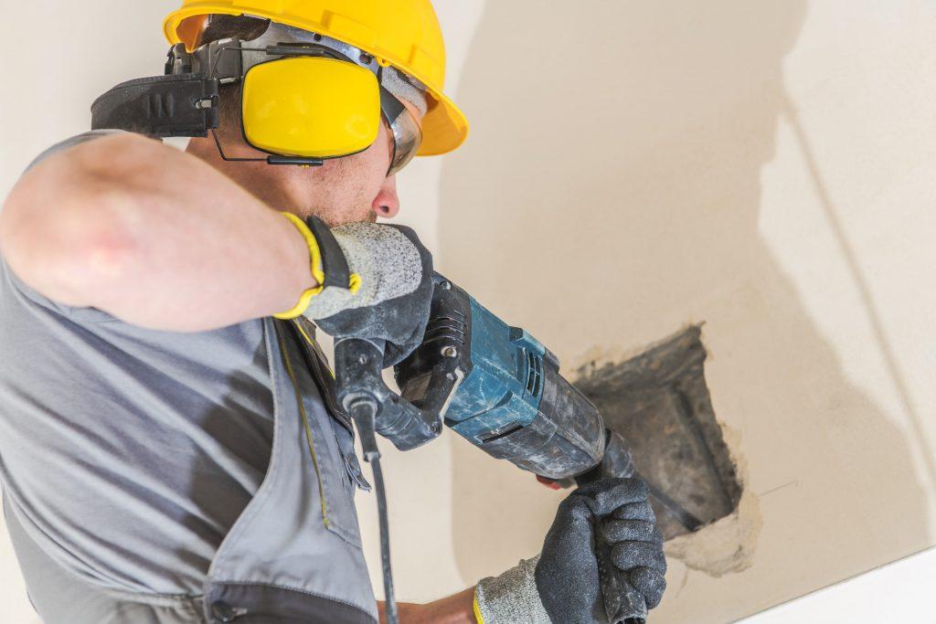 Deluxe Concrete Restoration Worker